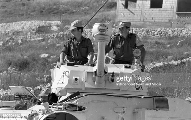 Panhard 90 Crew Trooper Tom Malloy Kildare Trooper Noel Patton Lifford Lt Gerry Brennan Navan Road Dublin Recon Section C Coy Lebanon