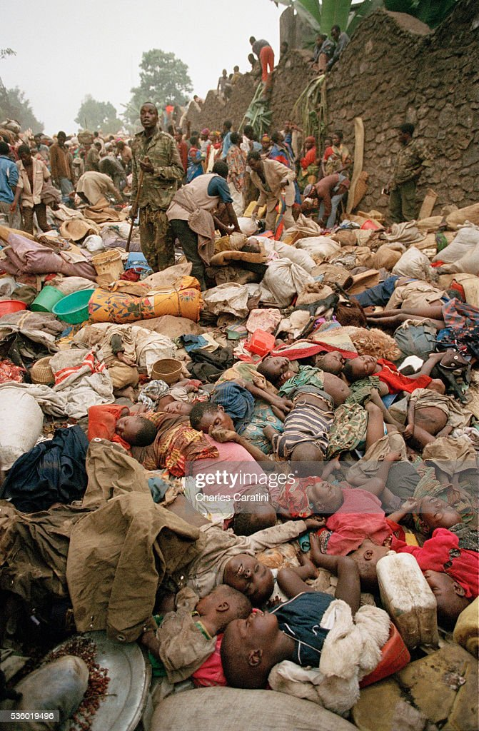 Civil War in Rwanda : News Photo