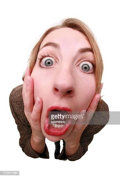 pánico - personas cabeza grande fotografías e imágenes de stock