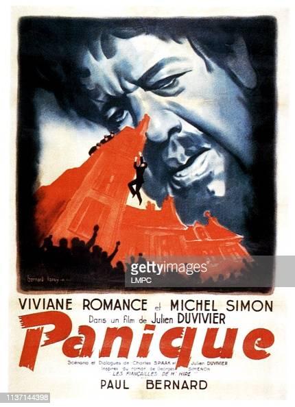 CINE FRANCÉS -le topique- - Página 8 Panic-poster-michel-simon-on-french-poster-art-1946-picture-id1137144398?s=594x594