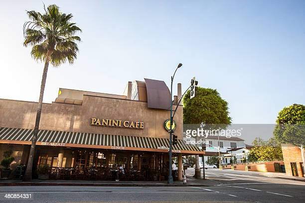 Panini Cafe in Beverly Hills, Los Angeles, USA