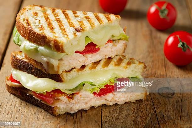 Panini-Sandwiches