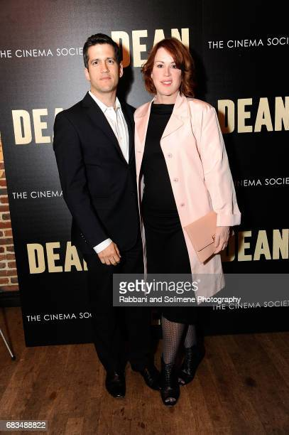 Panio Gianopoulos and Molly Ringwald attend the CBS Films And The Cinema Society Host A Screening Of Dean Arrivals at The Roxy on May 15 2017 in New...
