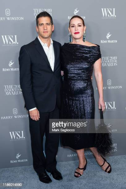 Panio Gianopoulos and Molly Ringwald attend the WSJ Mag 2019 Innovator Awards at The Museum of Modern Art on November 06 2019 in New York City