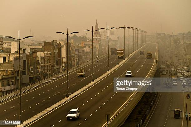 panipat flyover - haryana stock pictures, royalty-free photos & images