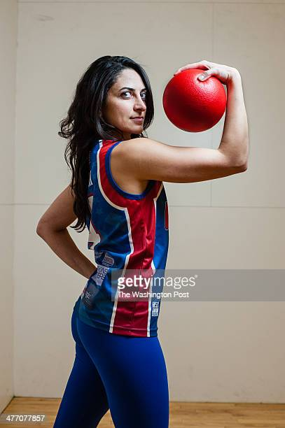 Paniz Asgari is a USA Women's Dodgeball player who competed at the world championship last year in New Zealand