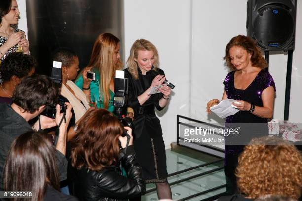 Panmela CastroAnarkia Alyse Nelson and Diane von Furstenberg attend DIANE von FURSTENBERG celebrates INTERNATIONAL WOMEN'S DAY with 'PROUD TO BE...