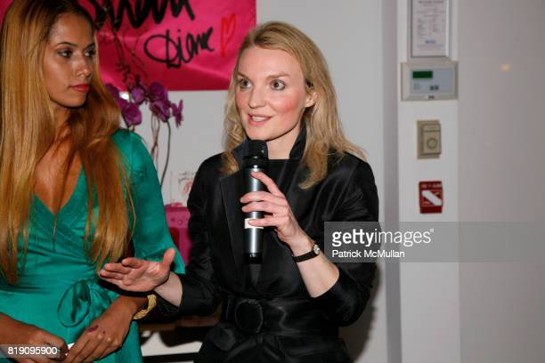 Panmela CastroAnarkia and Alyse Nelson attend DIANE von FURSTENBERG celebrates INTERNATIONAL WOMEN'S DAY with 'PROUD TO BE WOMAN' CD release party at...
