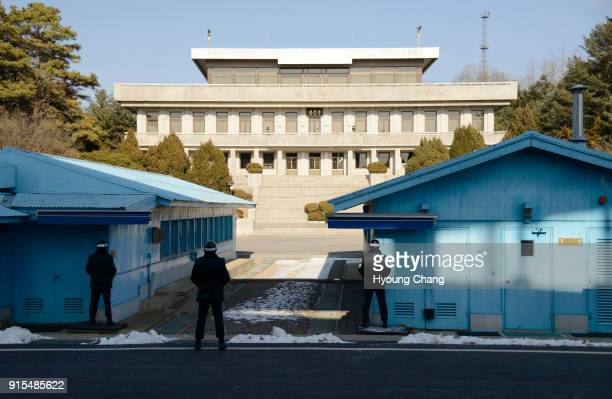 Panmunjom, now located in North Hwanghae Province, North Korea, was a village just north of the de facto border between North and South Korea, where...