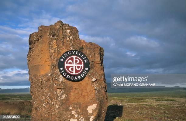Panneau du parc national