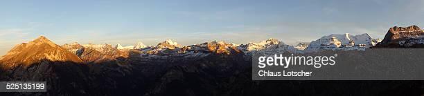 Panorama Bernese alps, Switzerland