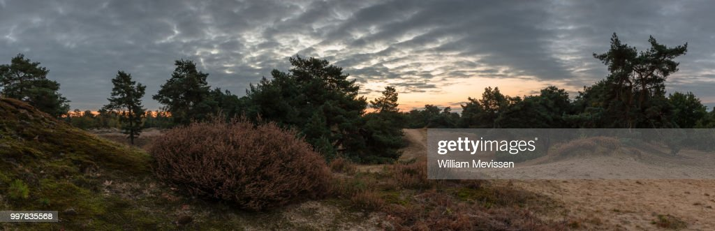 Panorama - Cloudy Sunrise : Stockfoto