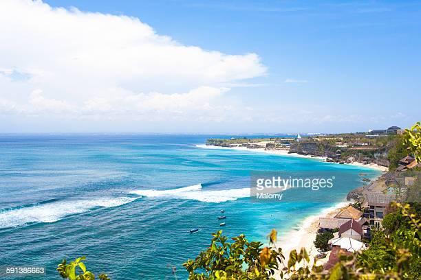 Panorama, coastline at Uluwatu, Bali, Indonesia