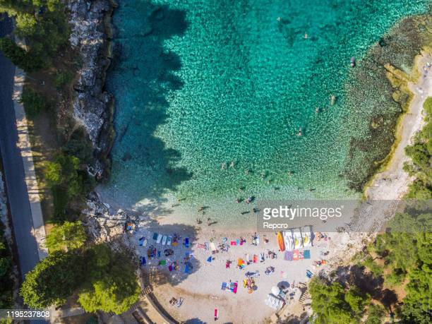 panorama croatia istria - イストリア半島 プーラ ストックフォトと画像