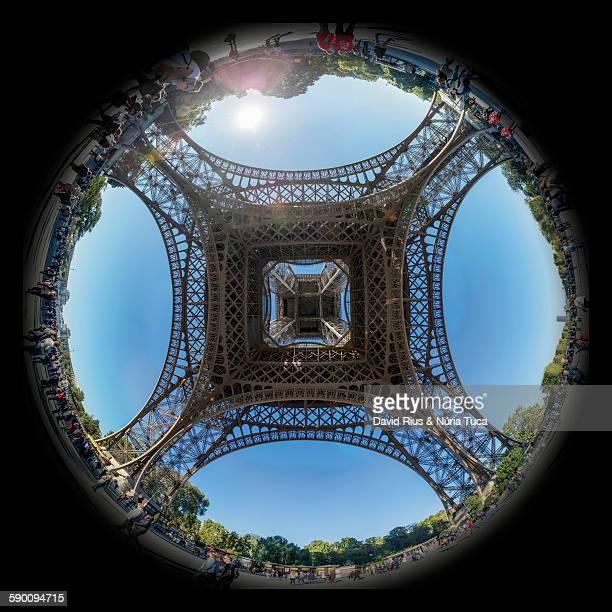 Panorama de la torre Eiffel
