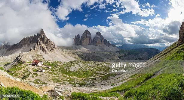 Panorama Dreizinnenhütte - Rifugio Antonio Locatelli