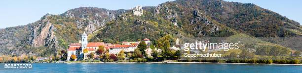 Panorama-Dürnstein, Wachau an der Donau,