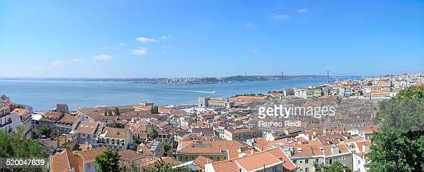 Panorama from Castle of Sao Jorge to Lisbon 2