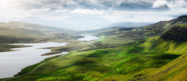 Panorama from The Storr