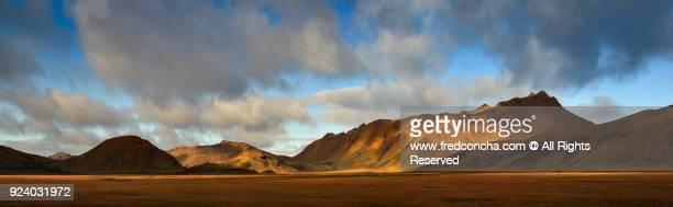 Panorama Iceland mountains