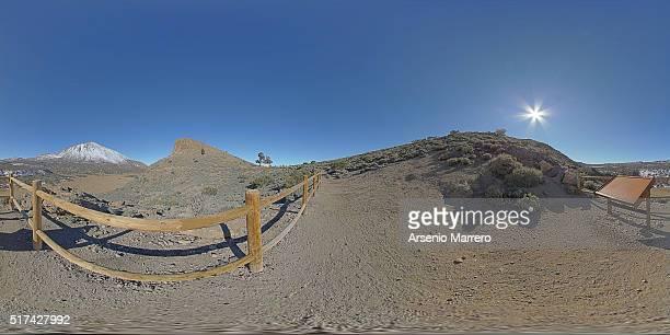 Panorama in La Fortaleza Teide National Park