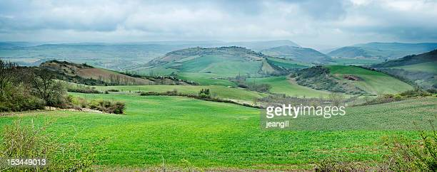 panorama in languedoc-roussillon, france - aveyron stock pictures, royalty-free photos & images