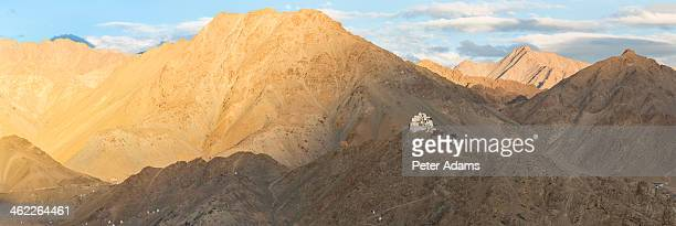 Panorama Namgyal Tsemo Gompa, Leh, Ladakh