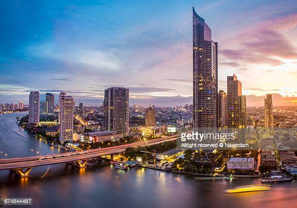Panorama of amazing Bangkok