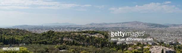 Panorama of Athens from Acropolis Hill