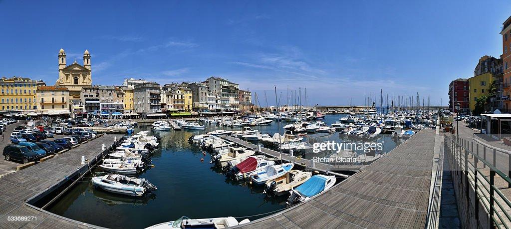 Panorama of Bastia : Foto stock