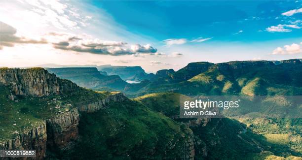 Panorama of Blyde River Canyon in South Africa