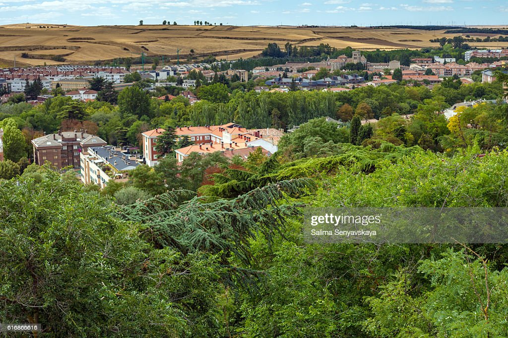Panorama of Burgos, Spain : Stock Photo