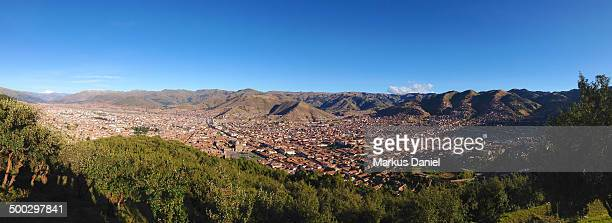 "panorama of cusco, peru - ""markus daniel"" stock pictures, royalty-free photos & images"