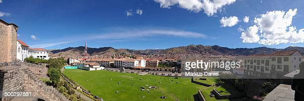 "panorama of cusco - ""markus daniel"" stock pictures, royalty-free photos & images"