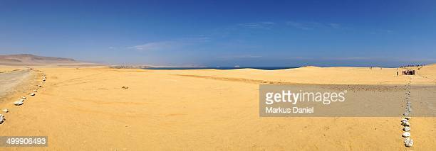 "panorama of desert and coast - ""markus daniel"" stock pictures, royalty-free photos & images"