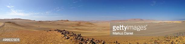 "panorama of desert in paracas peninsula - ""markus daniel"" stock pictures, royalty-free photos & images"