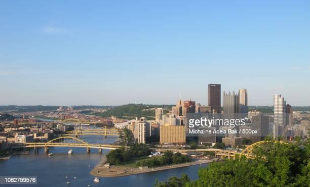 Panorama Of Downtown Pittsburgh, Pennsylvania