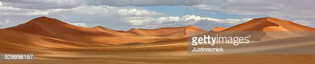 Panorama of Dunes at Sossusvlei, Namibia