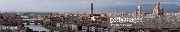 panorama di firenze, italia - pitti foto e immagini stock