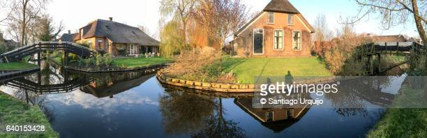 Panorama of Giethoorn
