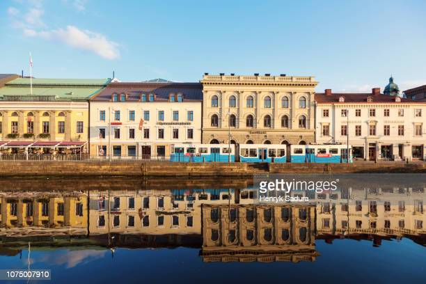 panorama of gothenburg - gothenburg stock pictures, royalty-free photos & images