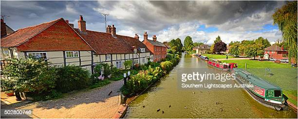 A panorama of Hungerford, Berkshire, England.