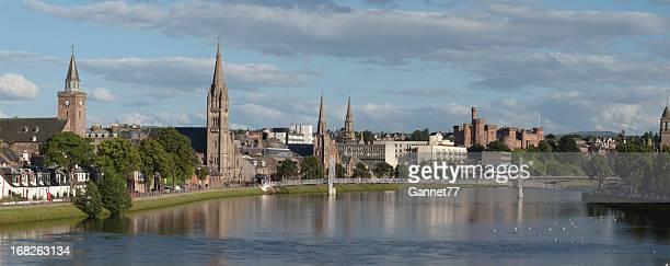 Panorama of Inverness, Scotland