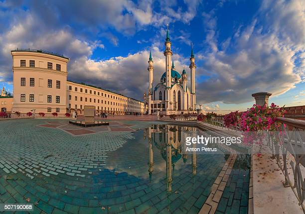 Panorama of Kazan Kremlin, Tatarstan Republic, Russia
