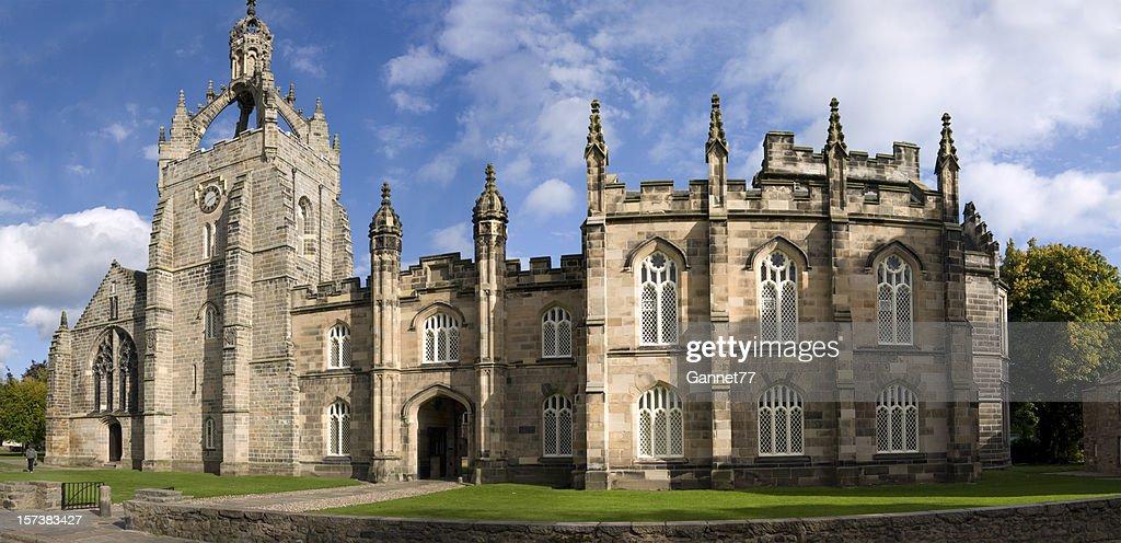 Panorama von King's College, von Aberdeen : Stock-Foto