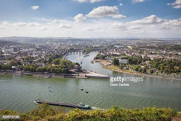 Panorama of Koblenz