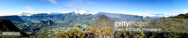 Panorama of La Reunion (île de la Réunion)