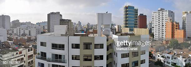 panorama of lima, peru - markus daniel stock pictures, royalty-free photos & images