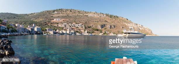 Panorama of Limeni village, Peloponnese, Greece