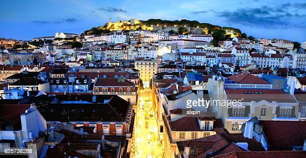 panorama de lisboa - cultura portuguesa fotografías e imágenes de stock
